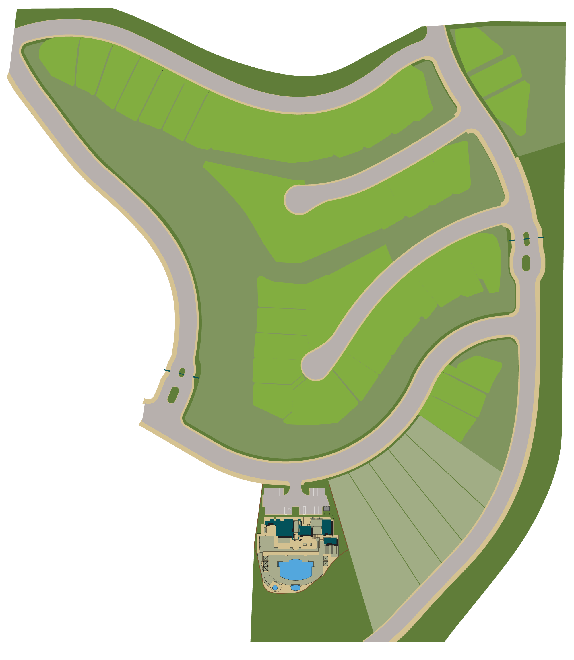 Deerlake Ranch Site Plan. Homes for sale in Chatsworth, CA