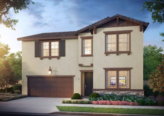 Madrone Home Exterior images-New Homes in Pomona, CA