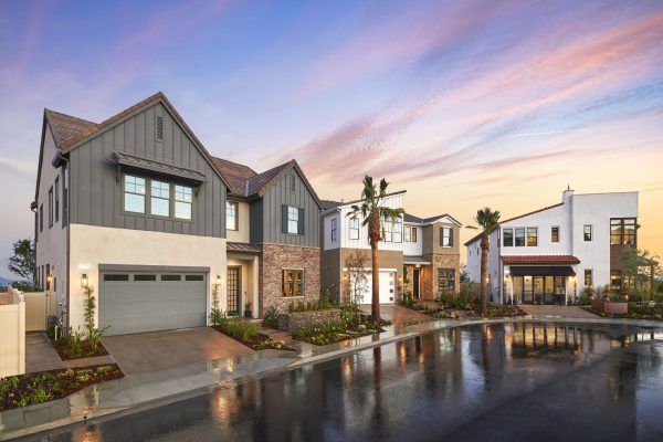 Deerlake Ranch Model Home Exteriors-Chatsworth, CA New Homes